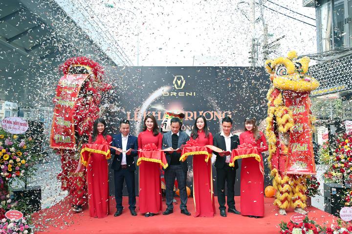 Khai trường chính thức showroom Oreni Đống Đa, số 390 Trường Chinh ngày 14/01.