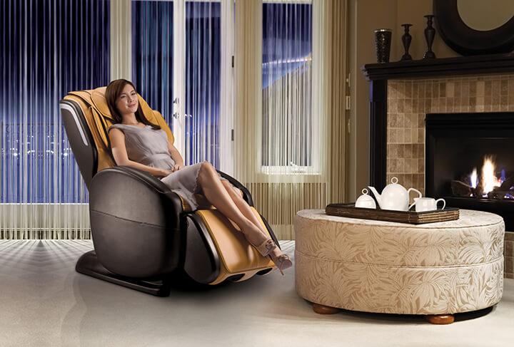 Da ghế là phần quan trọng của chiếc ghế massage