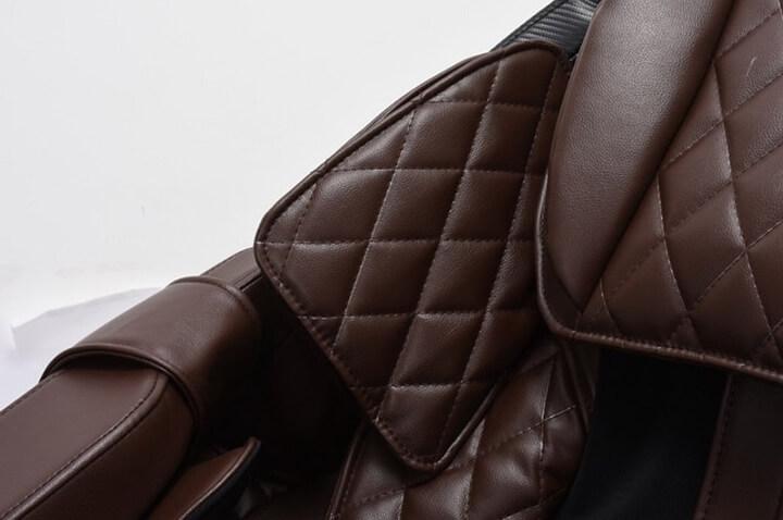 Chất liệu da ghế Simili được sử dụng nhiều cho ghế massage