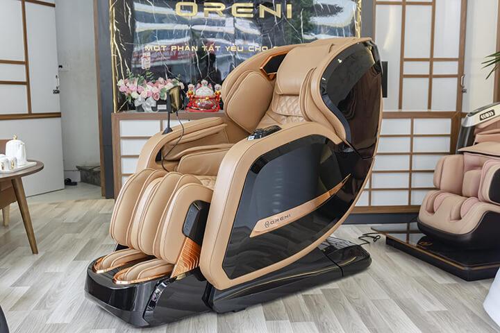 Oreni thương hiệu bán ghế massage có chất liệu da tốt nhất