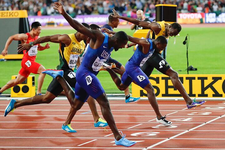 Chạy 100m là gì