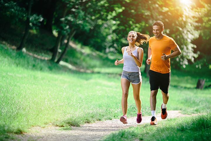Thay đổi địa hình chạy vừa tạo cảm giác khoan thai vừa giúp tăng hiệu quả giảm cân.
