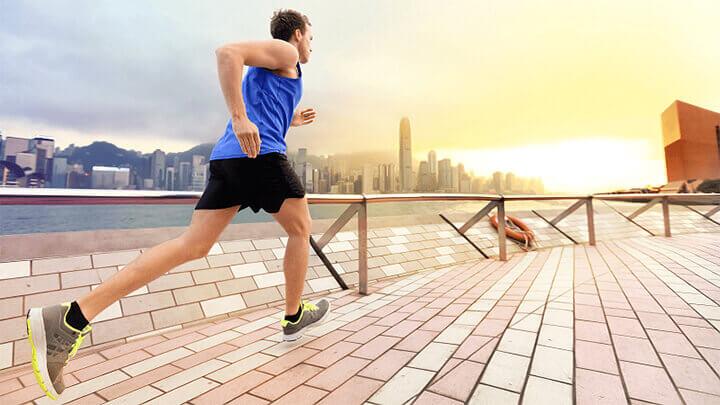 Tác dụng của chạy bộ là giúp hệ miễn dịch nam giới hoạt động tốt hơn