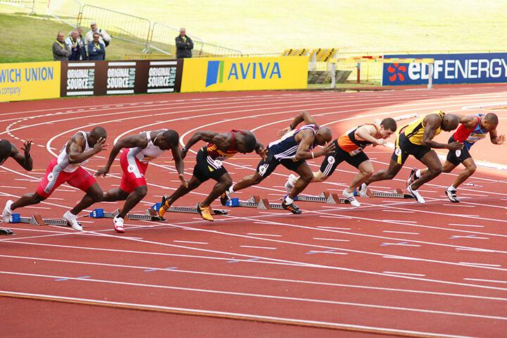 Tăng tốc đúng cách giúp bạn đạt hiệu quả cao khi chạy điền kinh