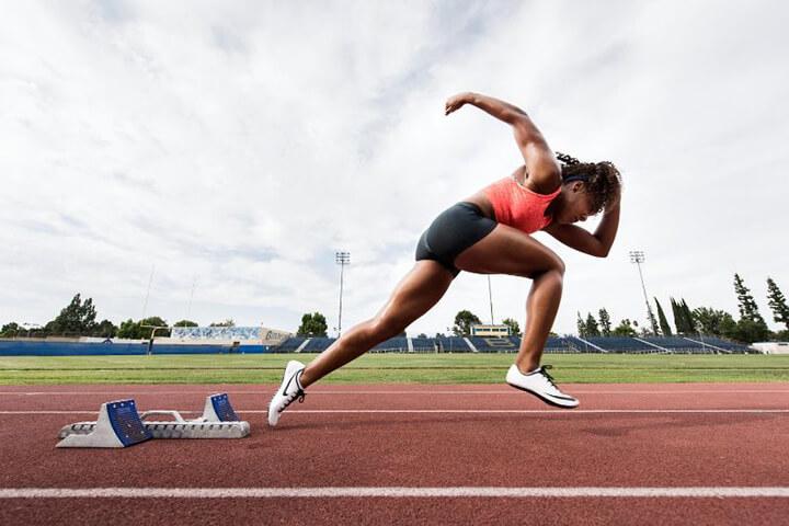 Chú ý các kỹ thuật tay chân khi chạy giúp VĐV có kết quả thi đấu tốt hơn