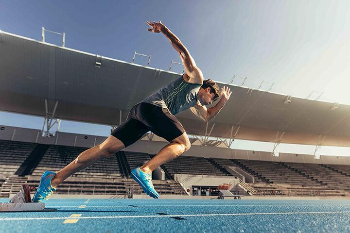 Chạy nhanh là bài tập thể dục rất nhiều người muốn chinh phục.