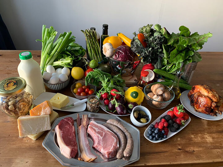 Nhóm thực phẩm bạn nên ăn trong chế độ KETO.