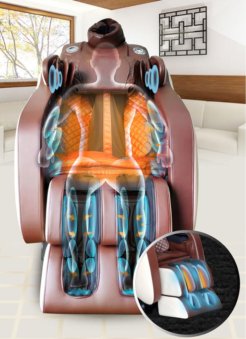 Cơ chế sinh nhiệt ghế massage hồng ngoại