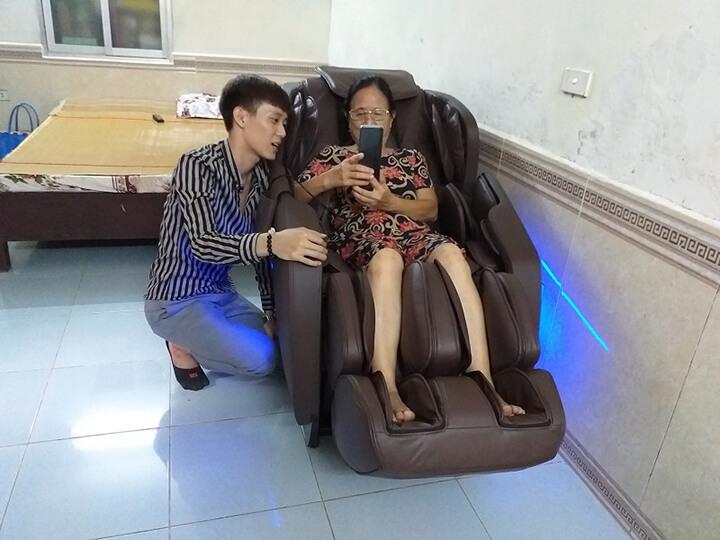 Ghế massage cũ có thời gian bảo hành ngắn.