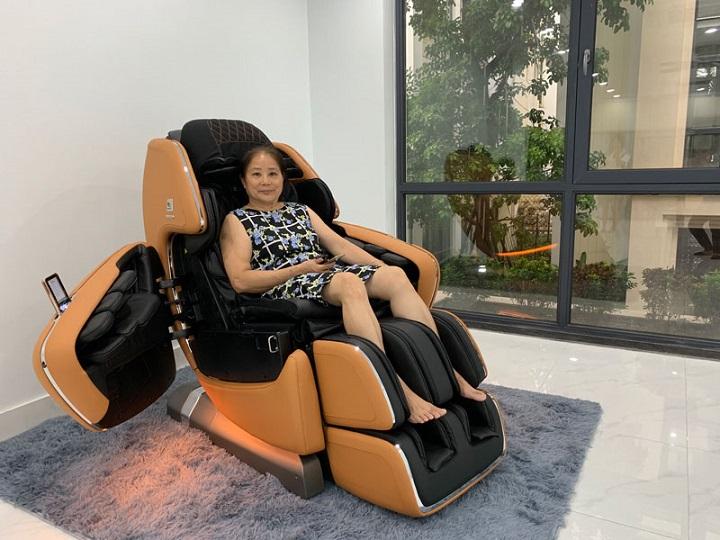 Kinh nghiệm mua ghế massage là chọn sản phẩm theo nhu cầu sử dụng
