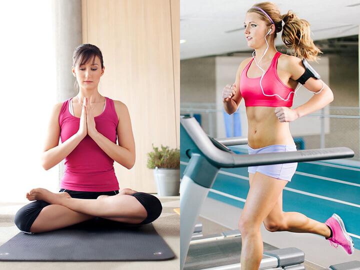 Kết hợp vừa tập Gym vừa tập Yoga sẽ giúp bạn có thân hình chuẩn và cân đối hơn