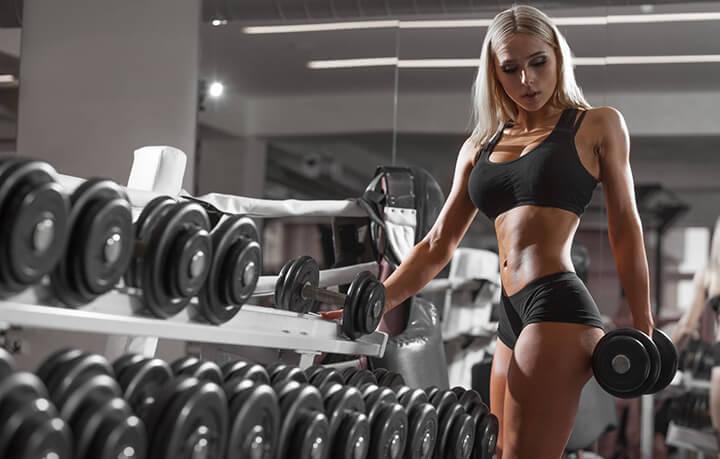 Con gái tập Gym sẽ có được thân hình cân đối, sexy hơn
