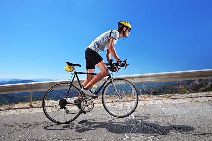 Đạp xe từ 30 - 60 phút là thời gian lý tưởng cho cơ thể đốt cháy calo tối ưu