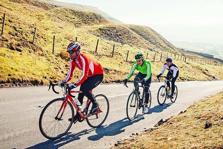 Đạp xe là hoạt động thể chất tốt cho sức khỏe