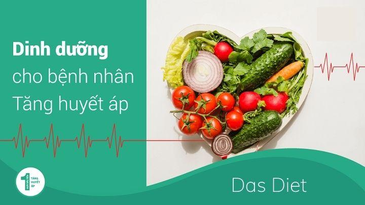Das Diet được nghiên cứu mang lại nhiều lợi ích cho sức khỏe