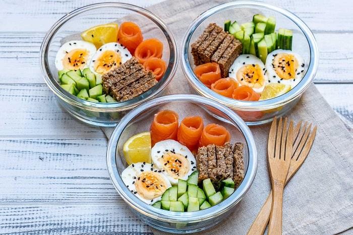 Thực đơn Das Diet bao gồm rau củ quả và trứng
