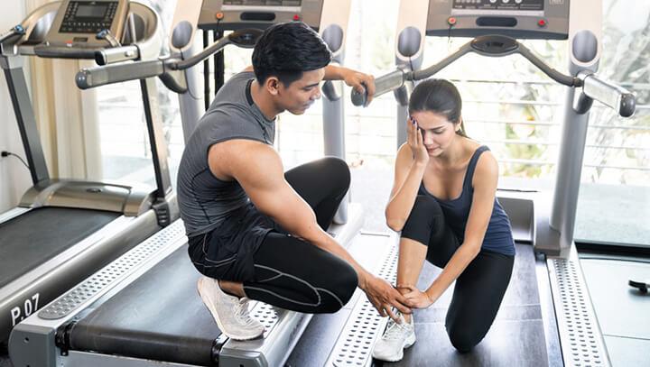 Tập Gym bị đau cơ thường xảy ra ở nhóm người mới tập.