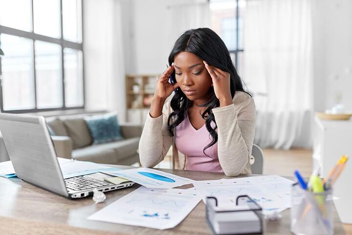 Suy giảm trí nhớ là một trong những biểu hiện của stress nặng