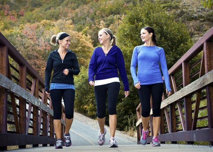 Nếu bạn đi bộ quãng đường càng dài thì hiệu quả giảm cân càng cao