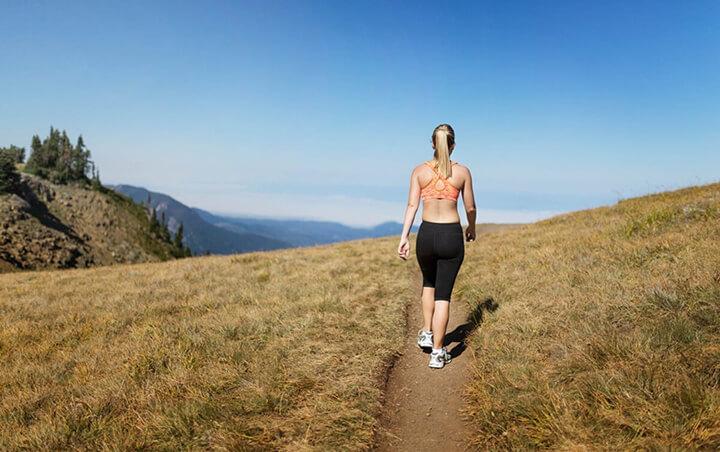 Đi bộ cần có thời gian để cho hiệu quả giảm cân.
