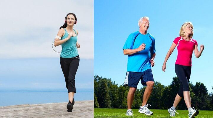 Bạn có bao giờ tự hỏi liệu mình nên chạy hay nên đi bộ để giữ sức khỏe?