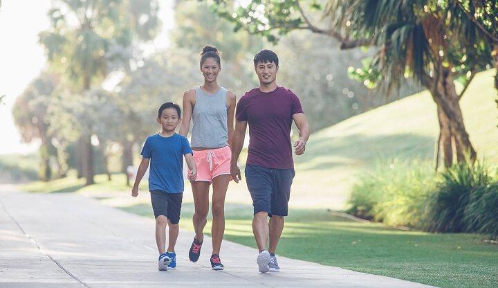 Đi bộ hàng ngày mang lại rất nhiều lợi ích cho sức khỏe của bạn