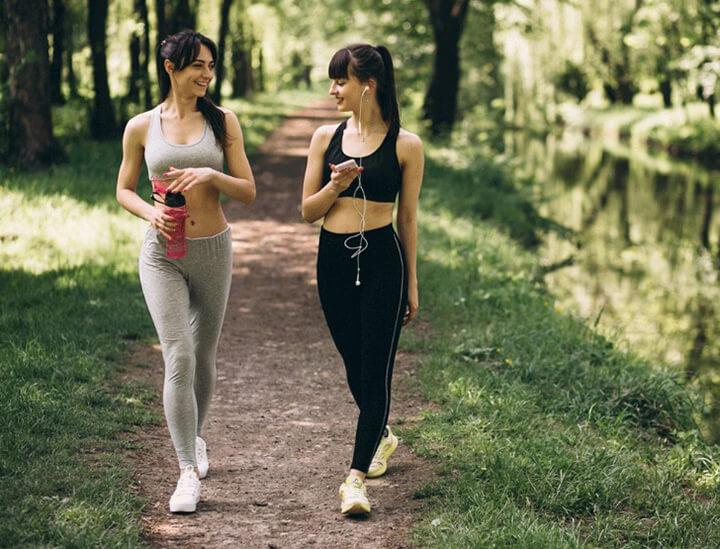 Đi bộ như thế nào để chân thon?
