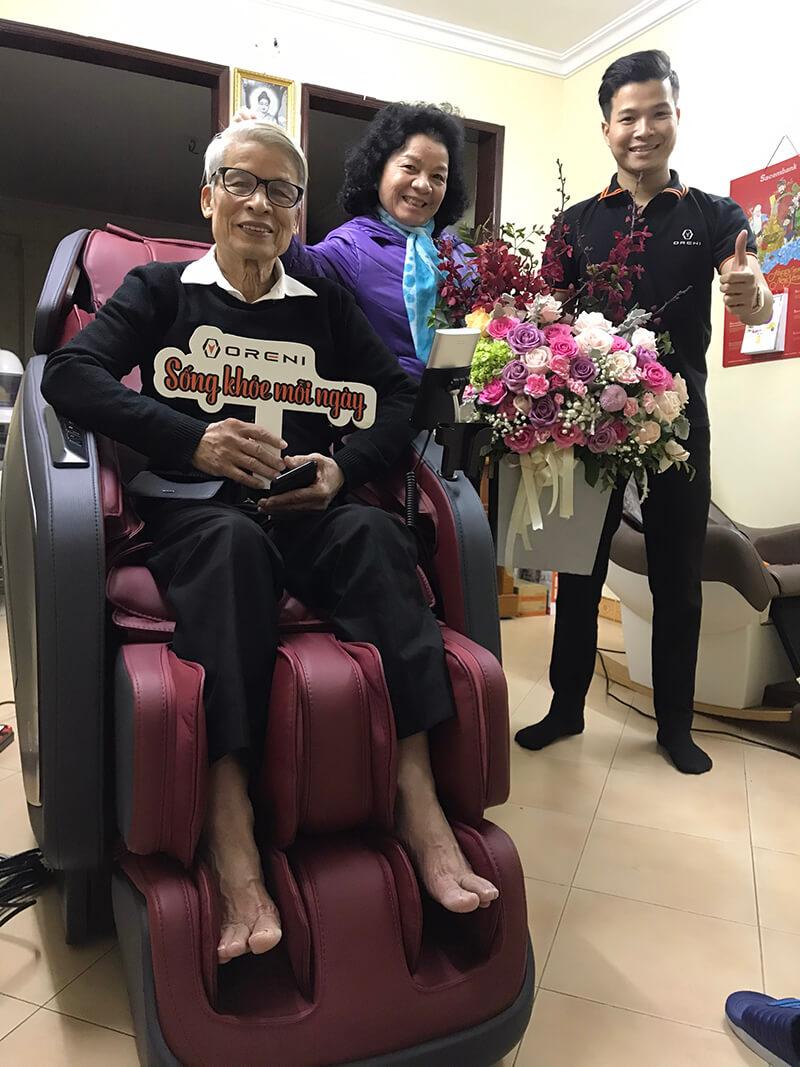 Oreni Việt Nam - Địa chỉ bán ghế massage uytín, chính hãng tại Hà Nội.