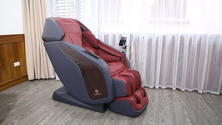Các mẫu ghế massage Oreni đều được nhập khẩu chính hãng từ Nhật Bản