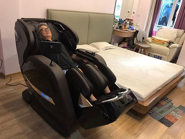 Địa chỉ mua ghế massage chất lượng ở Bắc Ninh có chế độ bảo hành 6 năm cho sản phẩm