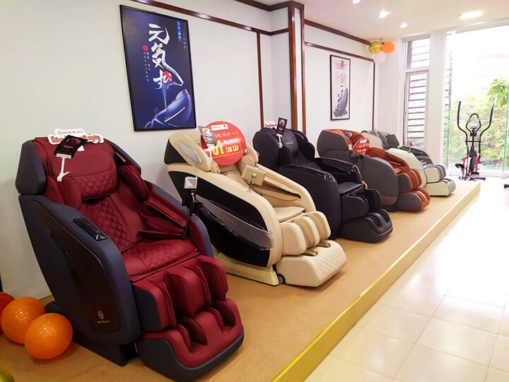 Sản phẩm ghế massage Oreniluôn được khách hàng ủng hộ