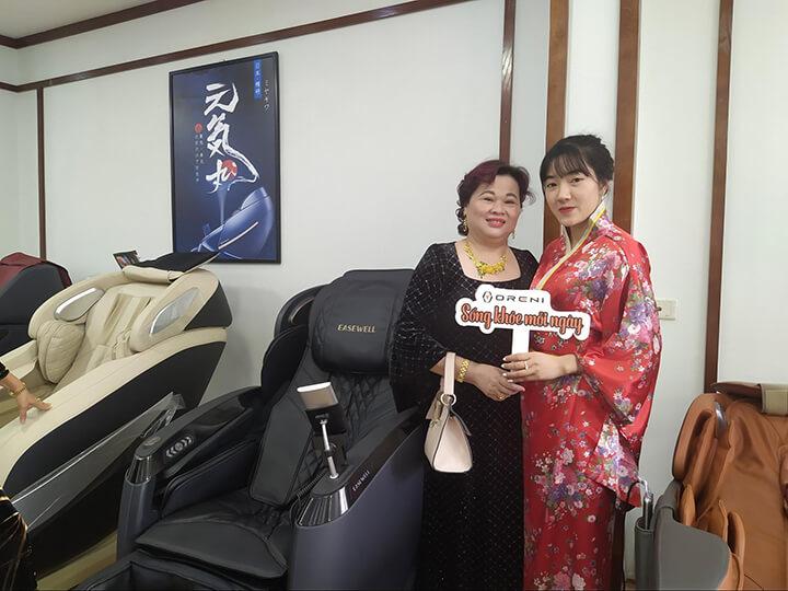 Quý khách hài lòng với những chính sách hậu mãi từ Oreni Việt Nam