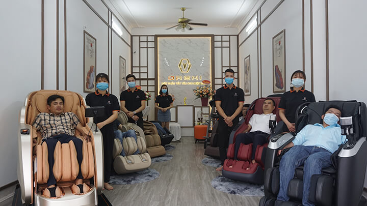 Oreni Hoài Đức là nơi bán ghế massage toàn thân uy tín, chính hãng