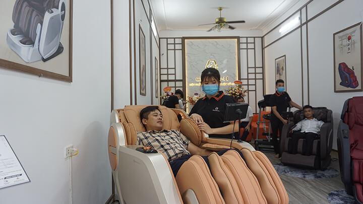 Hình ảnh cửa hàng ghế massage Oreni Hoài Đức