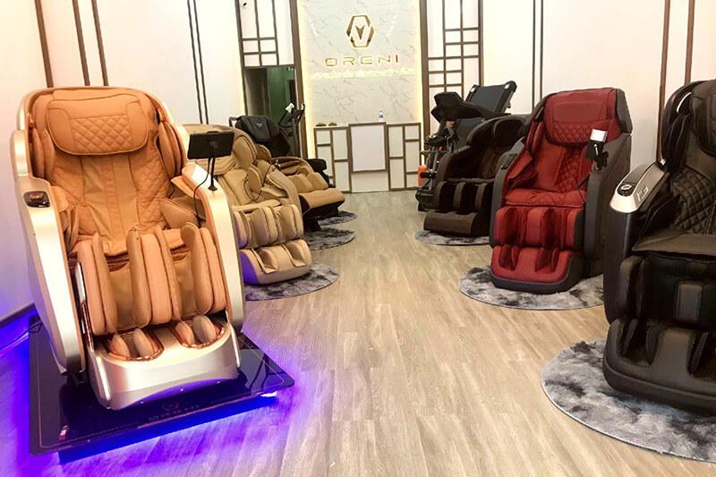 Địa chỉ bán ghế massage toàn thân uy tín tại Hoài Đức, Hà Nội