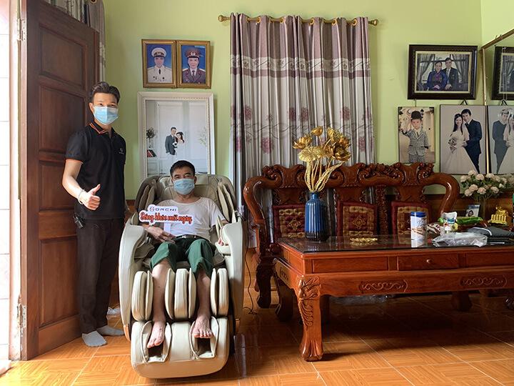 Ghế massage Oreni luôn được khách hàng đánh gia cao và ưu tiên chọn lựa
