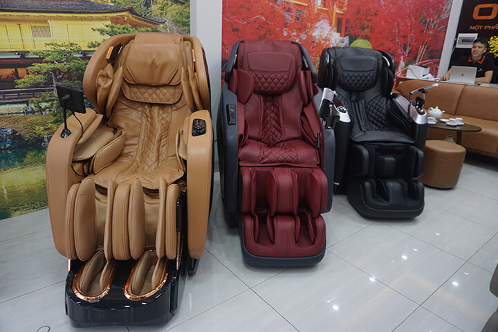 Các mẫu ghế massage của Oreni luôn đảm bảo chất lượng tốt nhất