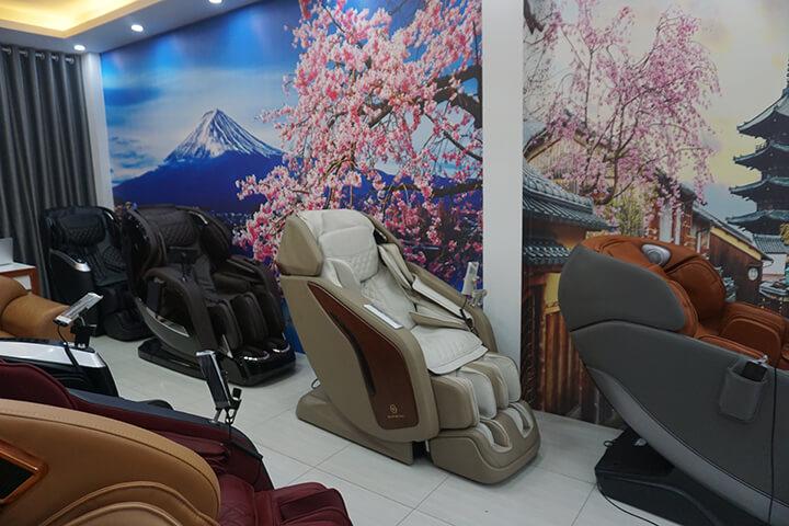 Hình ảnh showroom ghế massage Oreni Việt Trì, Phú Thọ