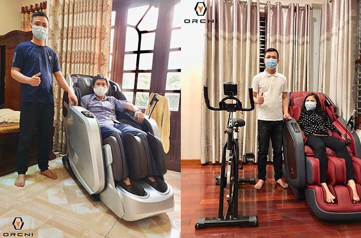 Ghế massage toàn thân là lựa chọn ưu tiên về thiết bi chăm sóc sức khỏe hiện nay