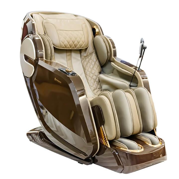 Ghế massage Oreni OR-350 sở hữu thiết kế sang trọng, bắt mắt bên ngoài