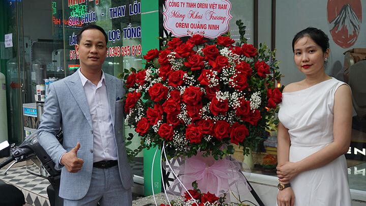 Hình ảnh showroom ghế massage Oreni Quảng Ninh