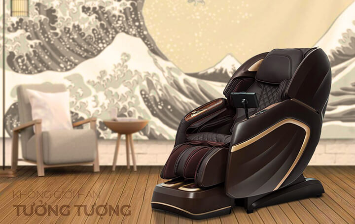 Công nghệ tiên tiến Nhật Bản được ứng dụng triệt để trong dây chuyền sản xuất ghế massage Oreni