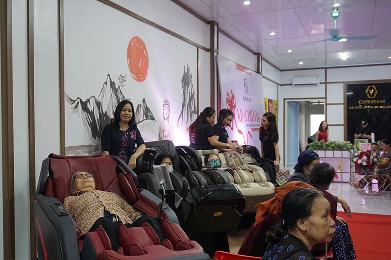 Địa chỉ bán ghế massage uy tín chính hãng tại Quảng Ninh