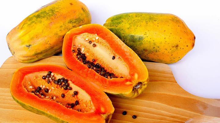 Đu đủ là loại quả dễ ăn, giàu chất bổ dưỡng