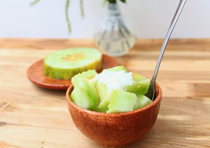 Dưa bở chứa rất nhiều chất dinh dưỡng có lợi cho sức khỏe