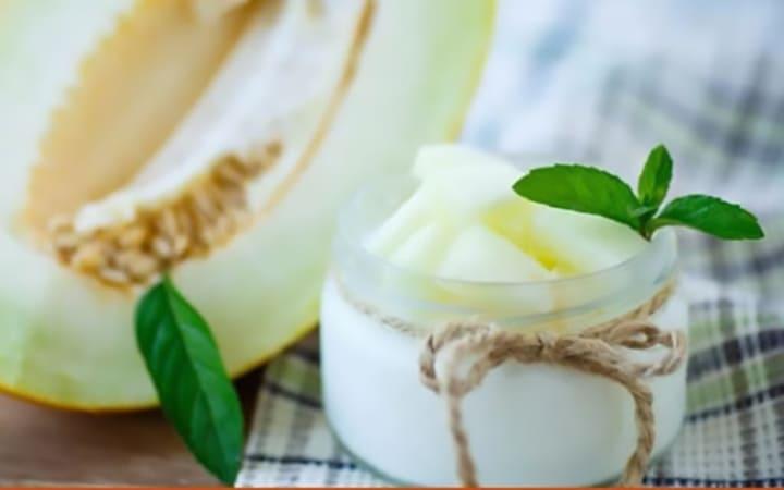 Món dưa bở trộn sữa chua giúp giữ dáng, đẹp da