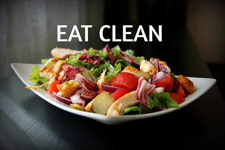 Lợi ích của eat clean đối với sức khỏe đã được chứng minh