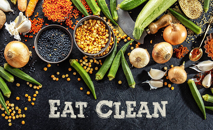 Eat Clean là chế độ ăn lành mạnh, giàu chất xơ, Vitamin