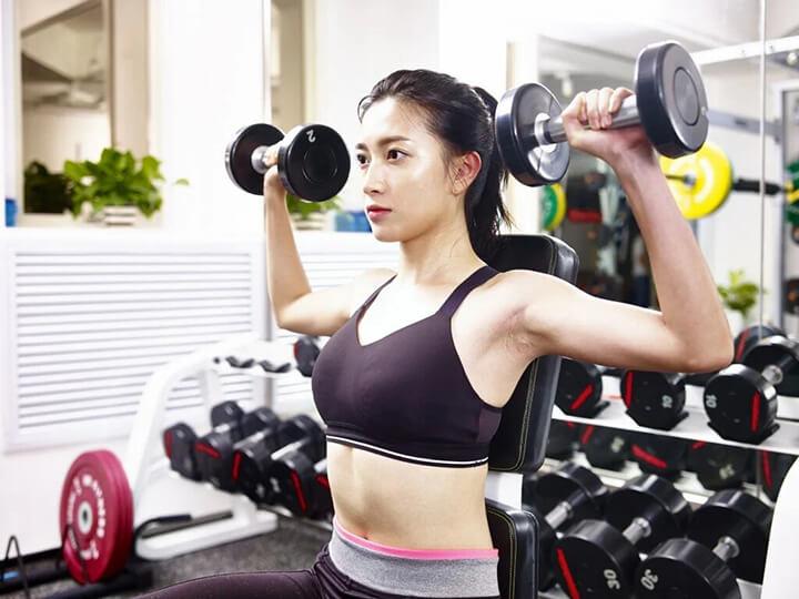 Fitness đề cao vẻ đẹp hình thể qua sự cân đối, săn chắc, gọn gàng.