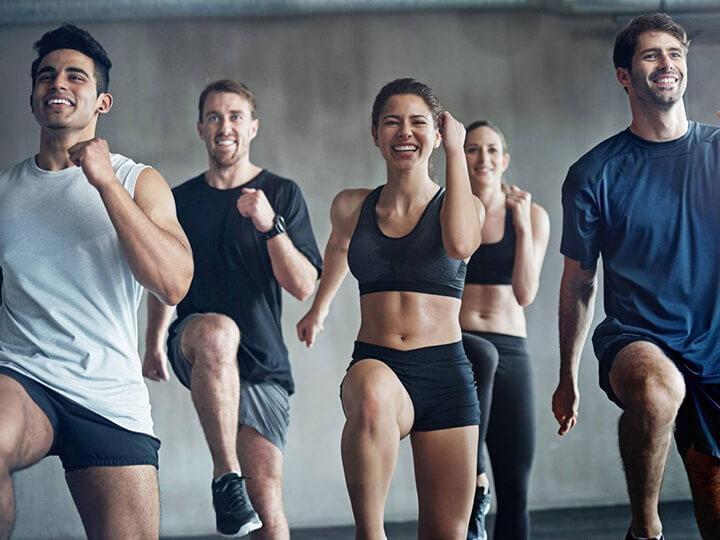 Fitness cần cả độ nhanh.